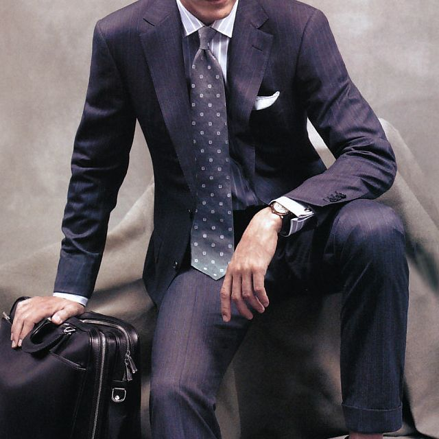 Ermenegildo Zegna Single Breasted Suit