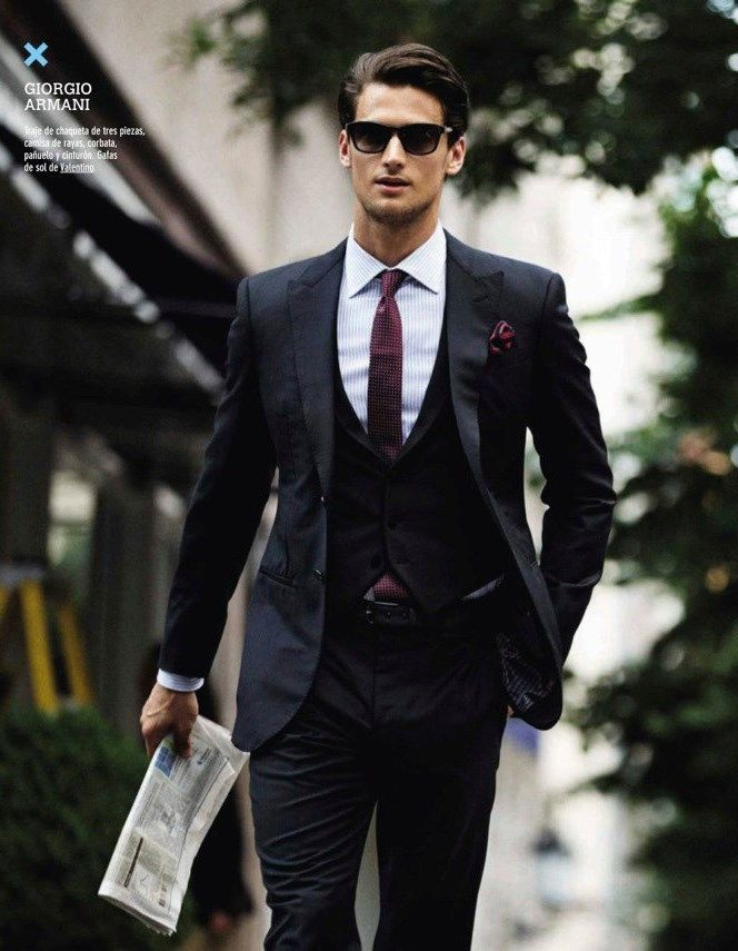 Giorgio Armani Men Suits