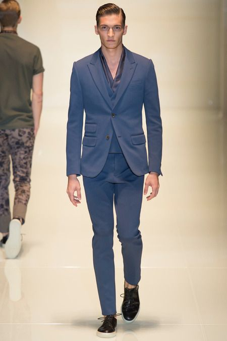 Gucci Spring 2014 Menswear Collection Slideshow