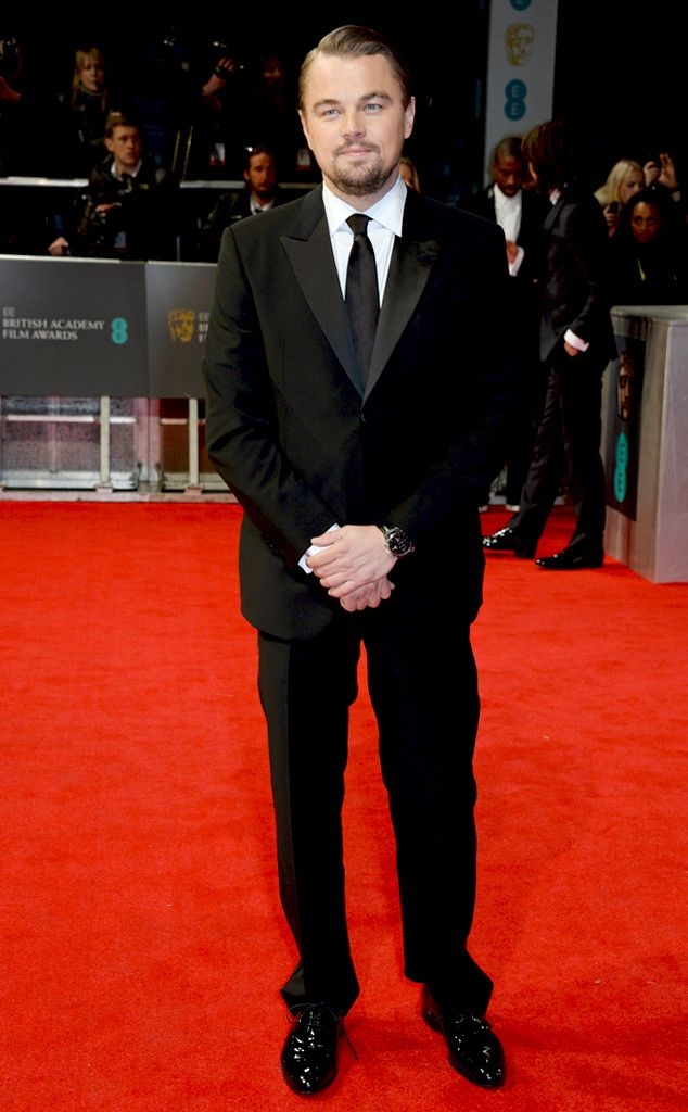 Leonardo DiCaprio from BAFTA Film Awards 2014 with Armani