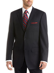 Navy Pinstripe Modern Fit Suit