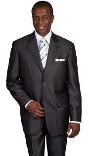 Sharkskin men suit