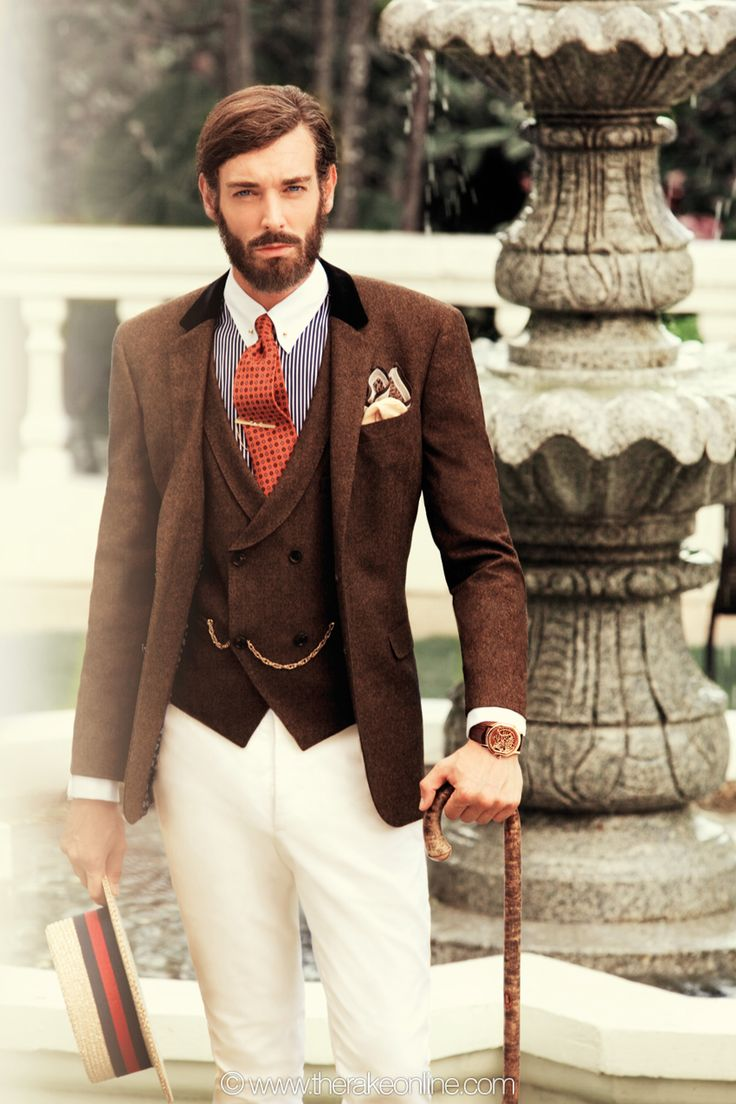 The Old British Aristocracy Mens Suit Style