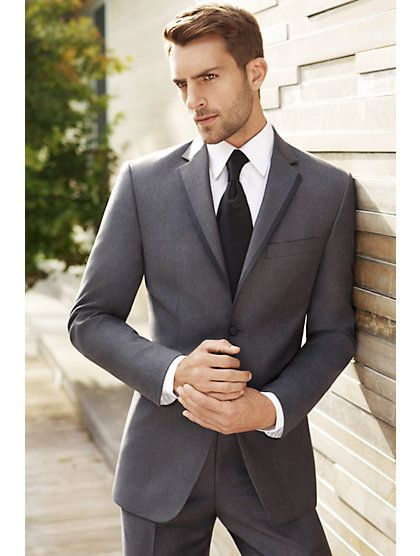 Vera Wang Black (gray suit) from Mens wear