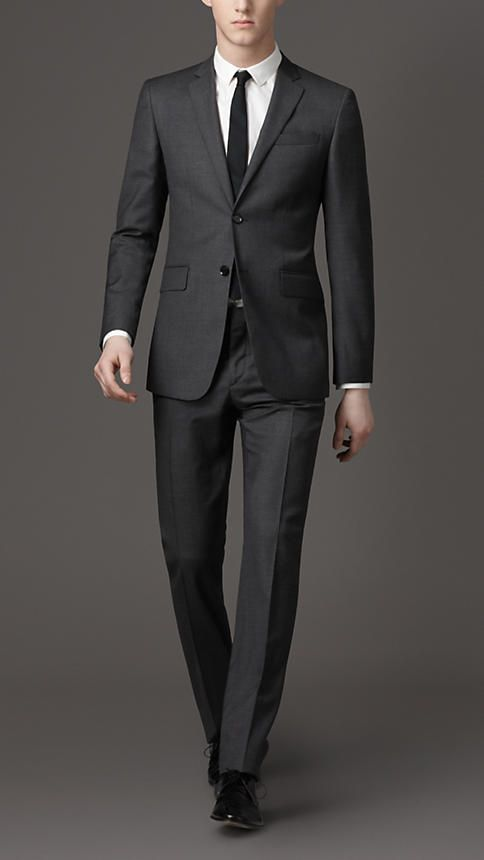 burberry prince of wales check suit