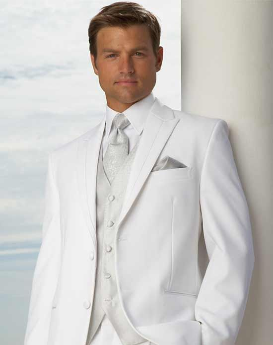 mens wedding white suit | Mens Suits Tips