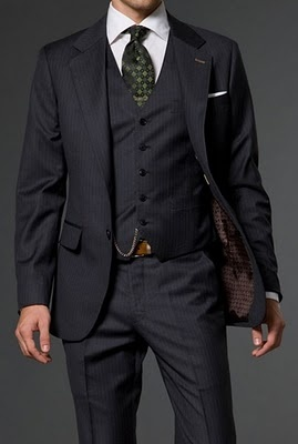 navy suit for men