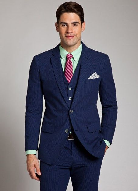 Men Suits with Tie - Mens Suits Tips