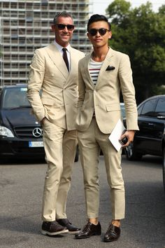 Men Summer Suit - Mens Suits Tips