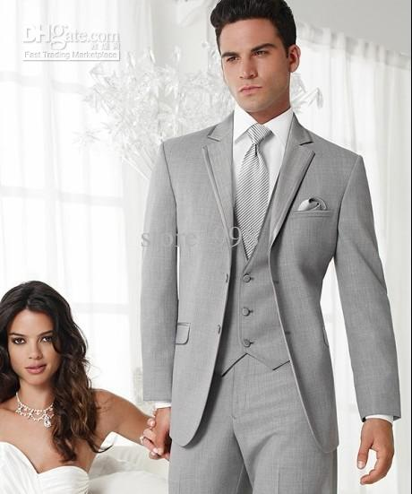 Grey Suit Wedding: Wedding Suit For Men