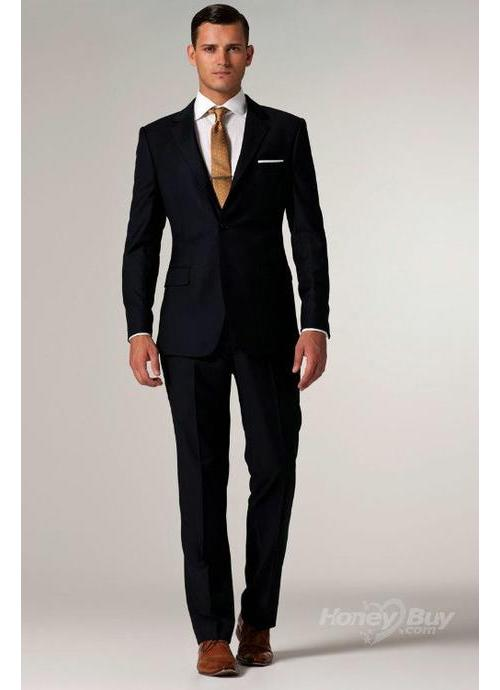 Black Men Suit - Mens Suits Tips