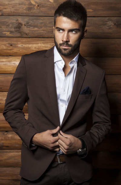 Brown Men Suits (4) | Mens Suits Tips