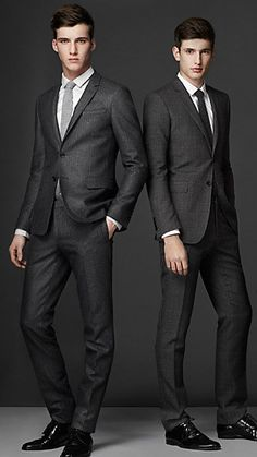 Charcoal Grey Men Suits (22) | Mens Suits Tips