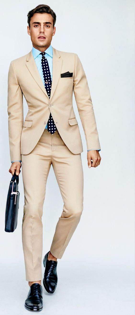 Tan Khaki Suits For Men - Mens Suits Tips