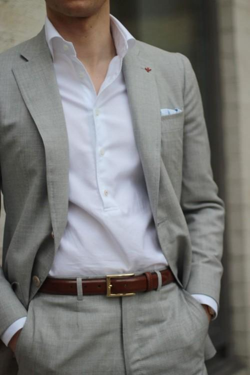 Grey Men Suit - Mens Suits Tips
