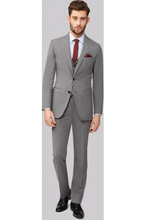 Light Grey Men Suit - Mens Suits Tips