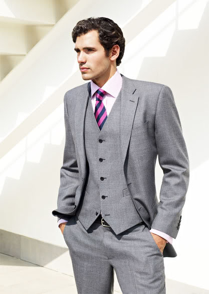 Light Grey Men Suits (30) | Mens Suits Tips