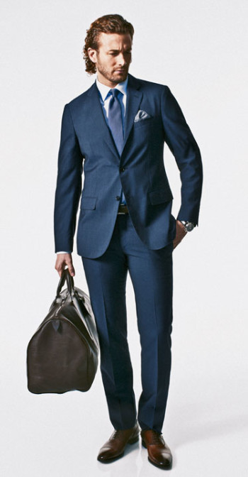 What Types Of Shoes To Wear With Navy Suit