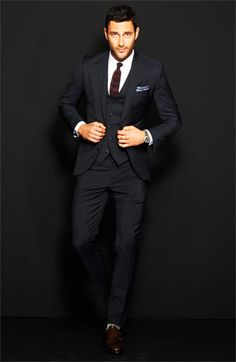 Three Piece Men Suits - Mens Suits Tips