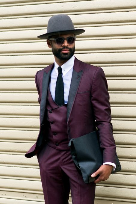 Burgundy Men Suits - Mens Suits Tips