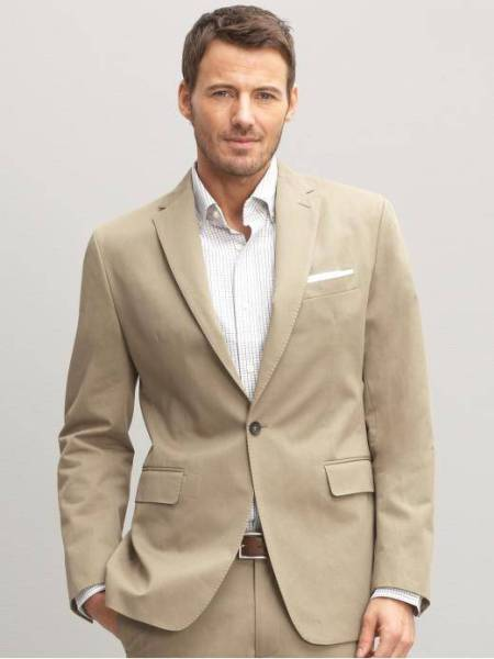Cotton Men Suits - Mens Suits Tips