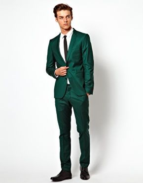 Green Suit - Mens Suits Tips