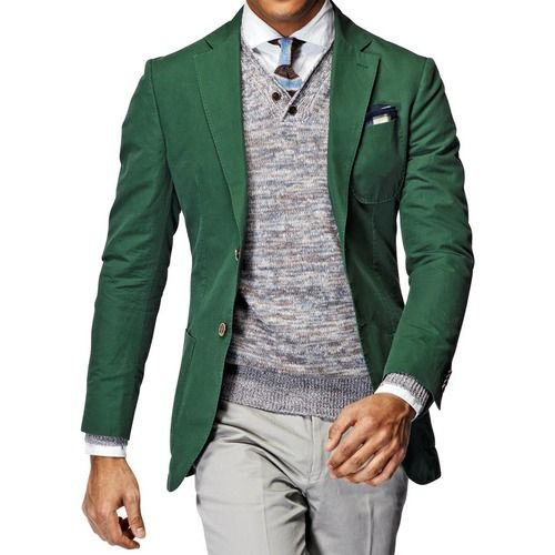 Green Men Suit - Mens Suits Tips