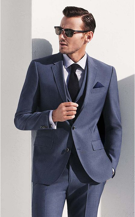 Relation of Men Suits and Success - Mens Suits Tips