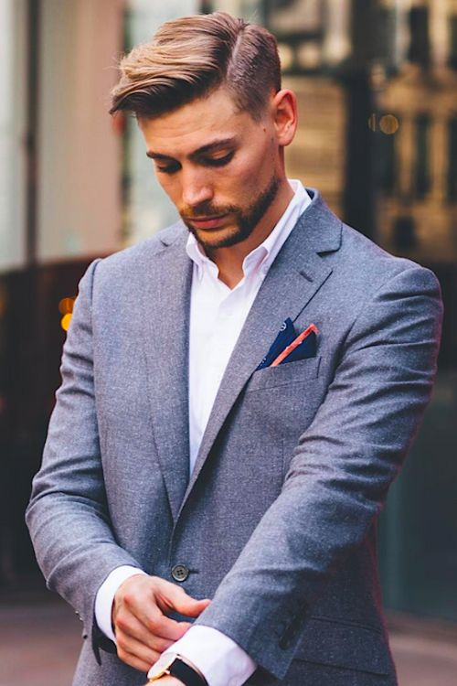 Blue Men Suits - Mens Suits Tips