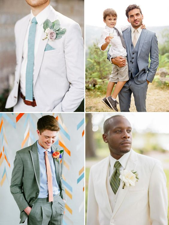 Men Suits for Spring Wedding - Mens Suits Tips