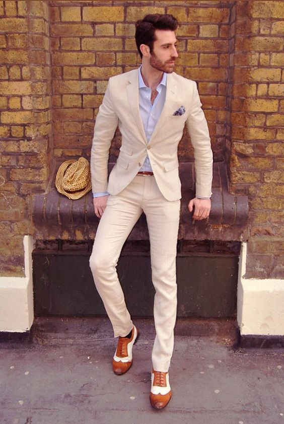 Slim Fit Wedding Men Suit (23) | Mens Suits Tips