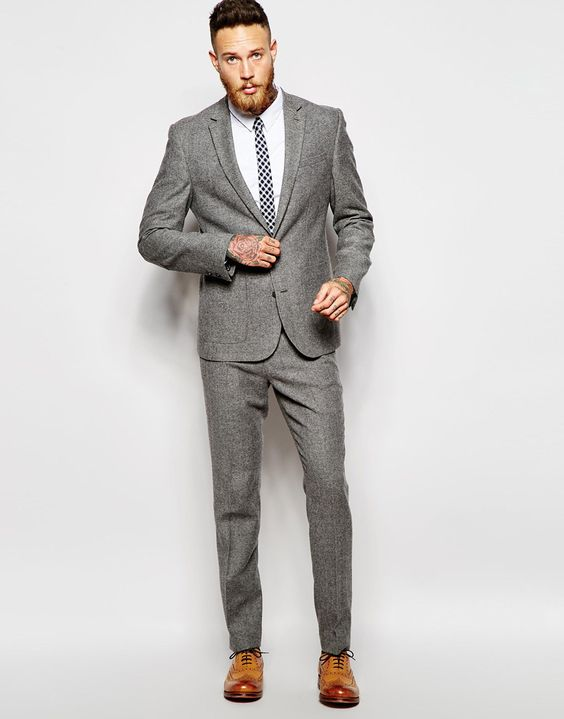 Slim Fit Wedding Men Suit (16) | Mens Suits Tips