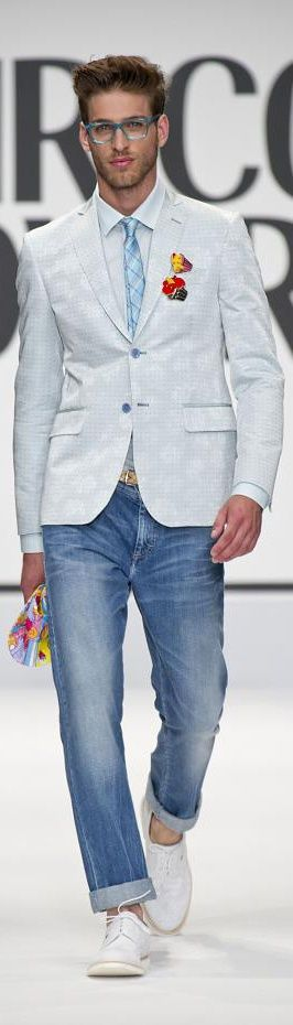 Wearing Suit Jacket with Jeans - Mens Suits Tips