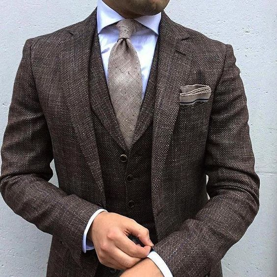 3-Piece Possibilities. The men's 3-piece suit ensures that the modern man steps out in style. Times have changed but the versatility of the men's 3-piece suit lives on. It's the foundation of a man's tailored wardrobe, presenting a seamless, unbroken line of material that pleases the eye with its .