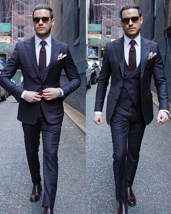 Style of Three-Piece Men Suits - Mens Suits Tips