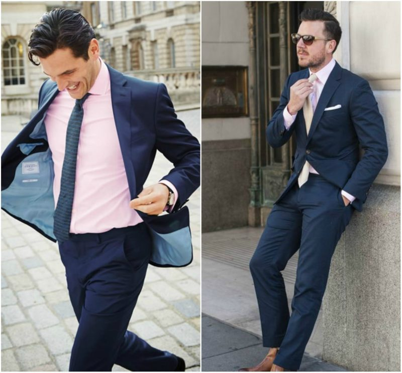 Suit Shirt Combines - Mens Suits Tips