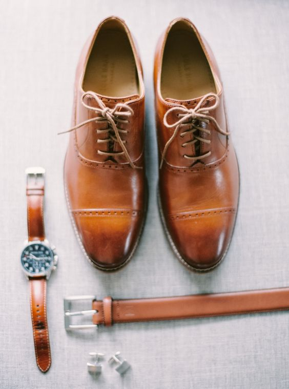 How To Combine Brown Shoes And Belt On Men