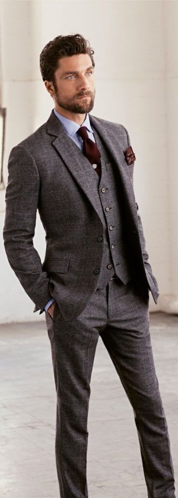 Grey Suits - Mens Suits Tips