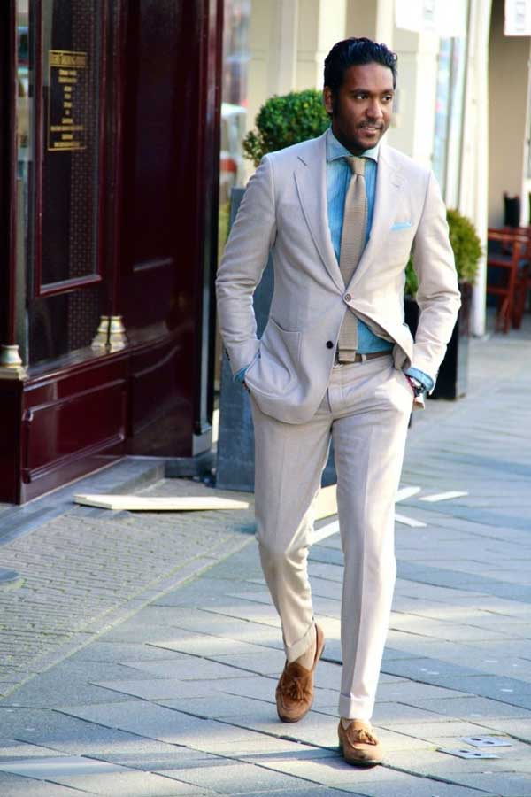 Linen Suits - Mens Suits Tips