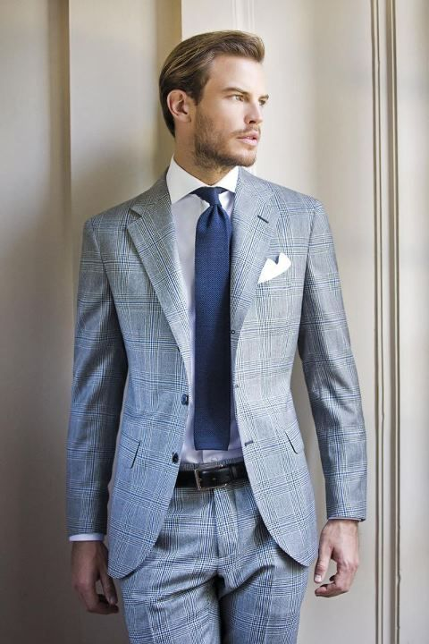 Shirt / Tie Combines For Patterned Suits - Mens Suits Tips