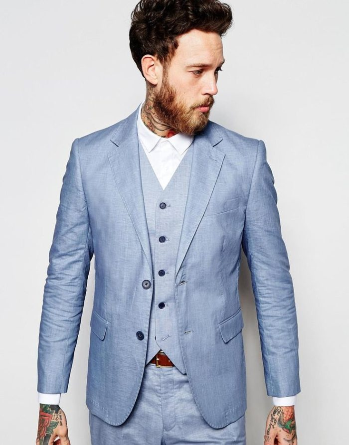 Free shipping and returns on Men's Linen Suits & Separates at metools.ml