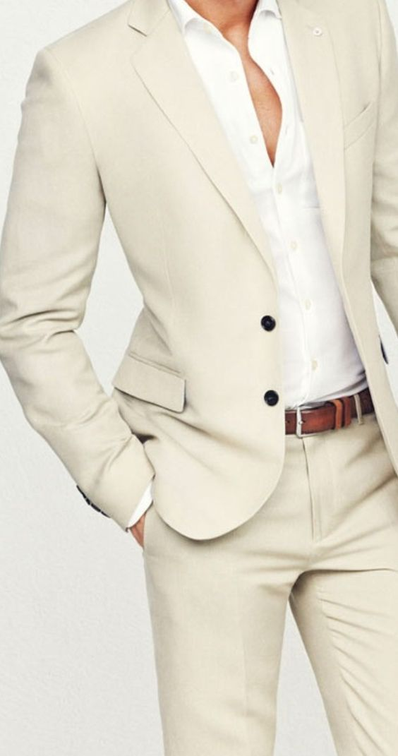 White groom suit | Mens Suits Tips
