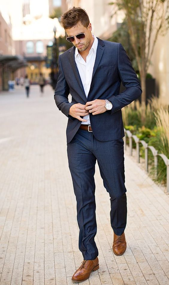 Casual Business Suit Tips - Mens Suits Tips