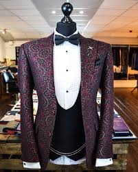 Custom tailor made groom suit